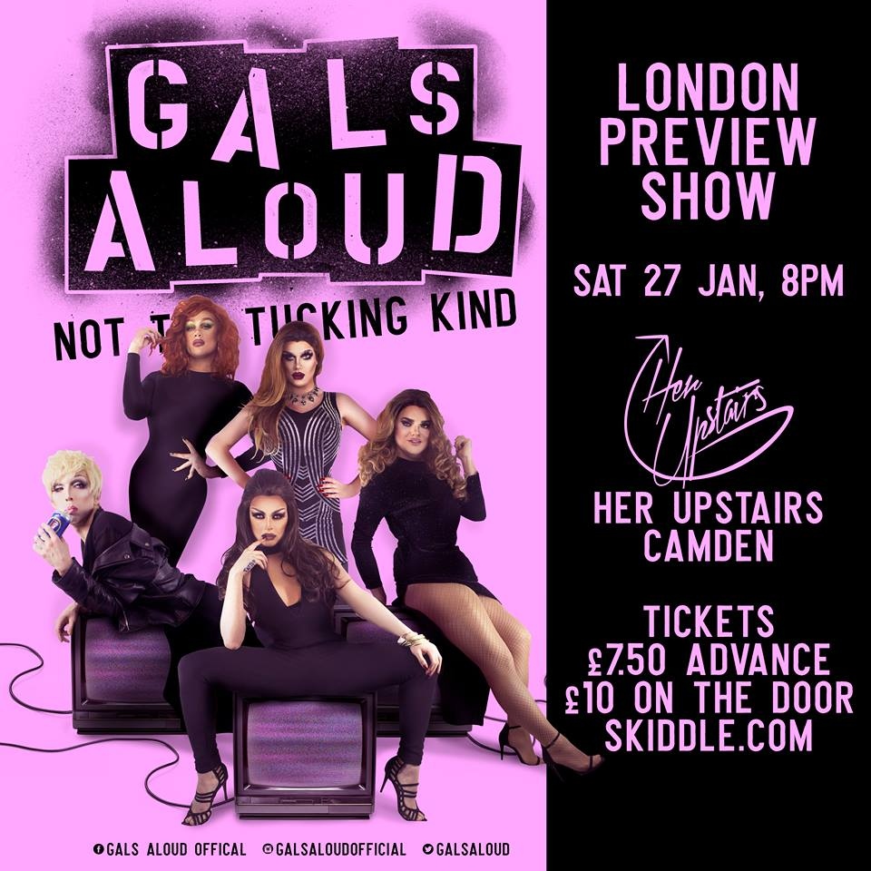 The new improved Gals Aloud are doing a preview of their new show!