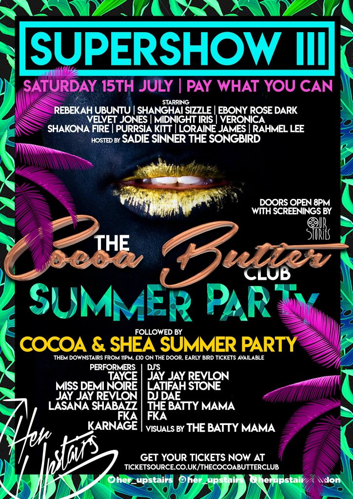 Cocoa Butter Summer Party